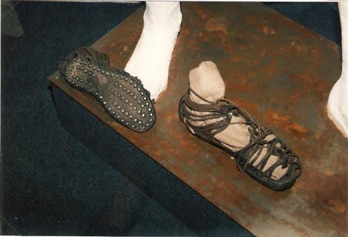 Römische Schuhe