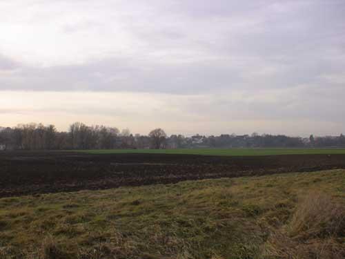 Unebenheiten im Feld bei Druisheim
