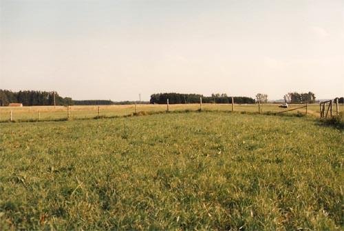 Via Claudia Dammanlage an der Bahnlinie Landsberg - Schongau