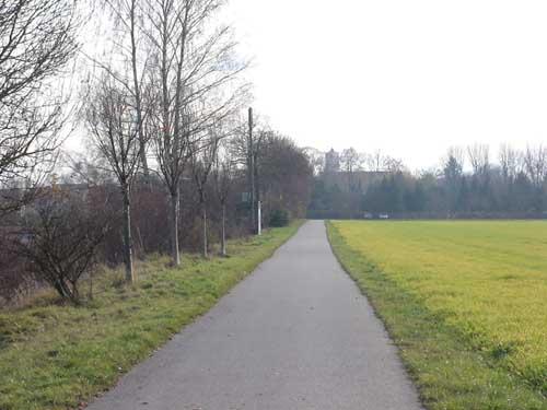 Via Claudia Richtung Gersthofen